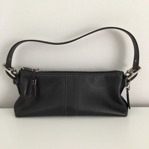 Coach Black Mini Tassel Bag
